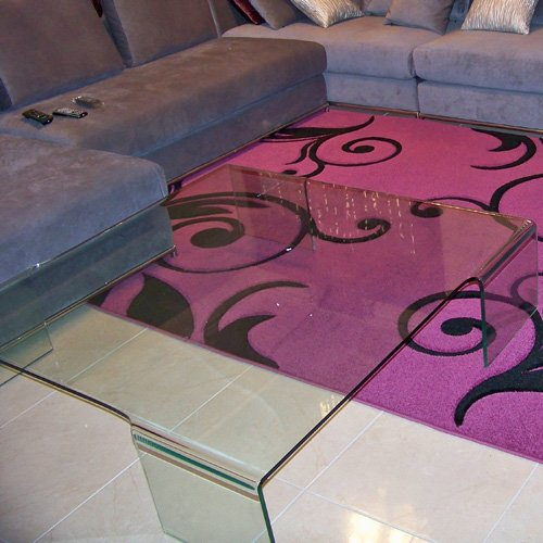 Зонирование помещений с помощью ковров